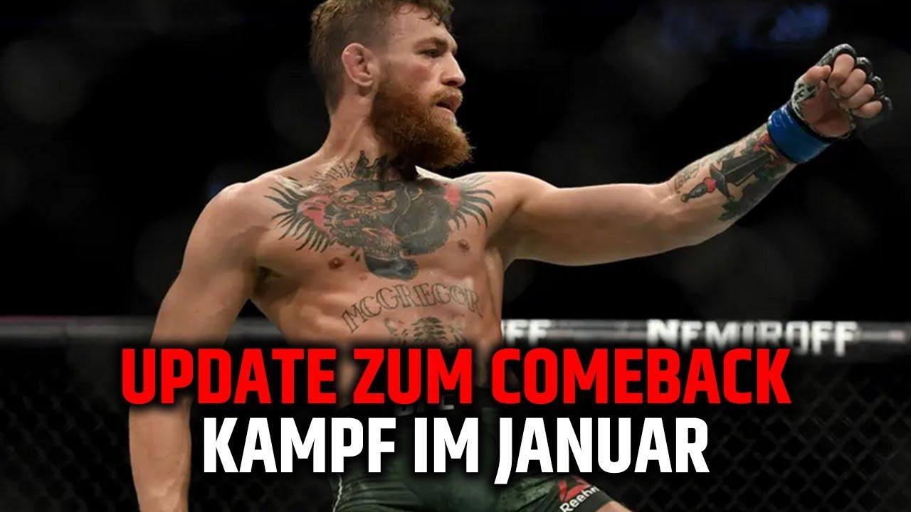 Update Zum Mcgregor Comeback Neue Infos