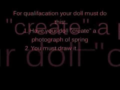 American Girl Artist Academy!!!!! ENTER NOW GIRlES!!!