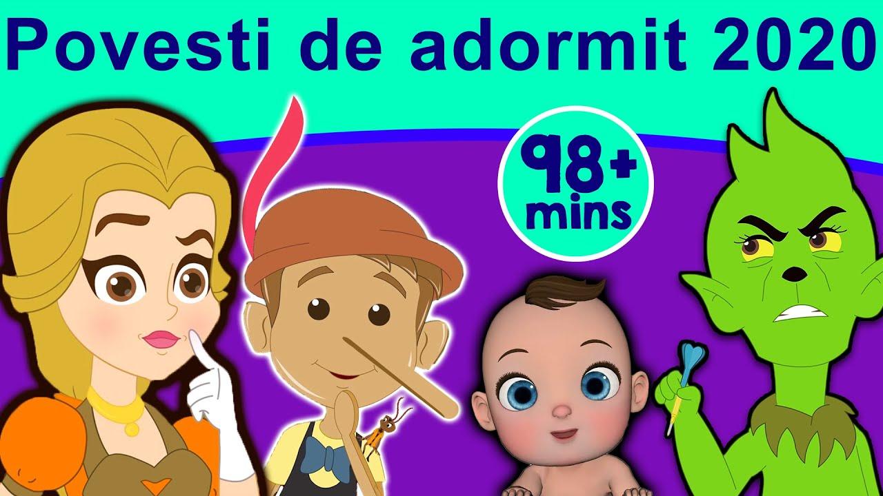 Povesti de adormit 2020 | Povești pentru copii | Desene animate | Basme În Limba Română | Povești
