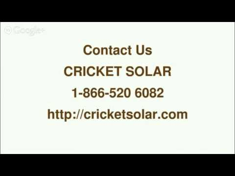 Best Rated Solar Panels - 866 520 6082-Cricket Solar Toronto,ON