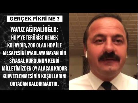 Yavuz Ağıralioğlu'ndan HDP yorumu