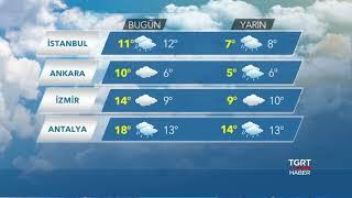 Yurt Genelinde Hava Durumu - 5 Aralık 2018