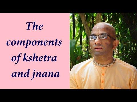 Bhakti Shastri 119  Bhagavad Gita Chapter 13 Text 04 to 12