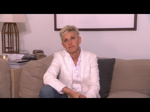 Ellen Dedicates Her Show to Newtown, CT