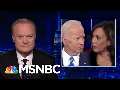 Senator Kamala Harris V. Joe Biden Draws Criticism And Praise. | The Last Word | MSNBC