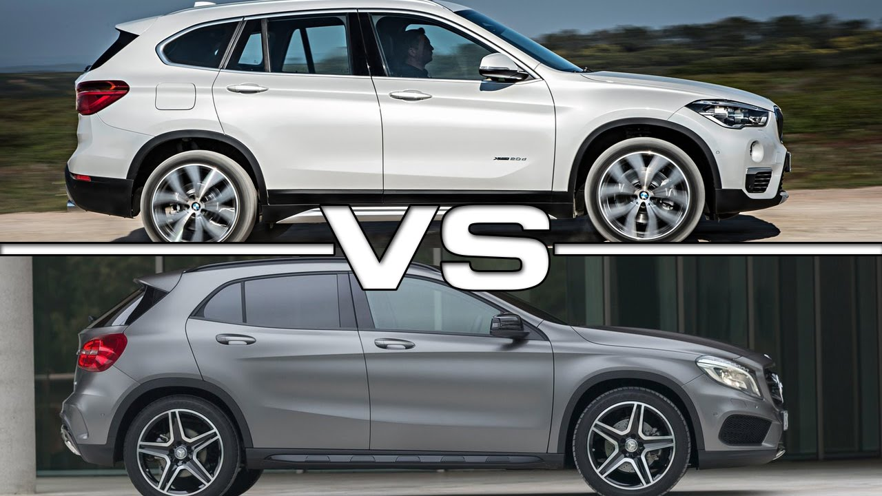 2016 Bmw X1 Vs 2016 Mercedes Benz Gla Youtube
