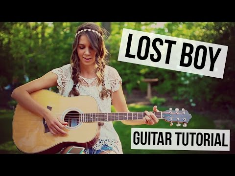 Lost Boy - Ruth B // Guitar Tutorial