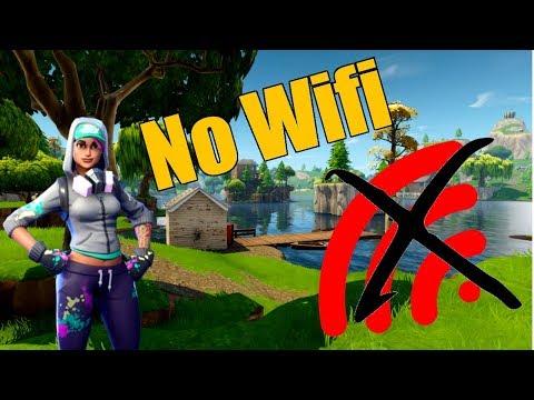 I Had No Wifi For A Week (Fortnite Battle Royale)