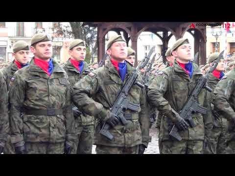 Przysięga żołnierzy - Rzeszów (26.11.2017)