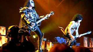 KISS - Hotter than Hell ao vivo - Show em Minneapolis