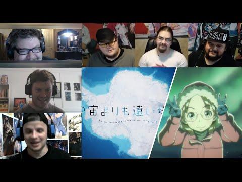 A Place Further Than The Universe :Sora Yori mo Tooi Basho Episode 13 Reaction