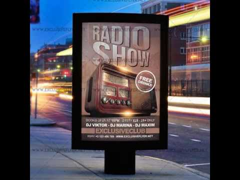 Radio Show - Premium A5 Flyer Template