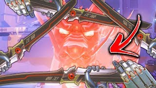 That's Why Genji Deflect is The FUNNIEST ABILITY!! - Overwatch Funny Moments & Best Plays #101