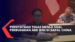 Download Menlu Retno: Perlakuan Kru Kapal China Terhadap ABK Indonesia Cederai HAM