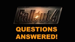 Fallout 4 Questions Answered - The Know