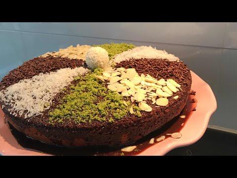 Islak kek/sosu yumurtasız ıslak kek