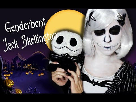The Pumpkin Queen: A Genderbent Jack Skellington Makeup Tutorial ...