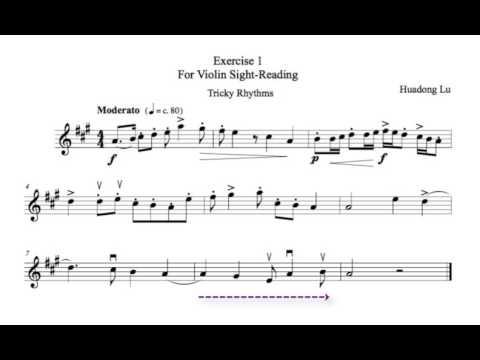 Violin Sight-Reading Exercise 2