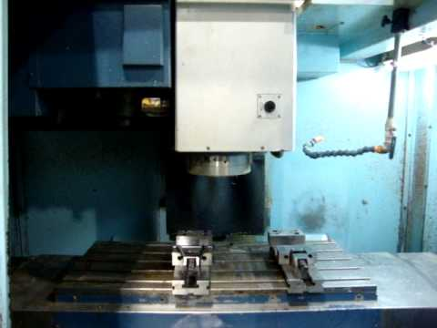 Matsuura MC 800VG with 12,000rpm spindle & I-Z-2 software.MPG