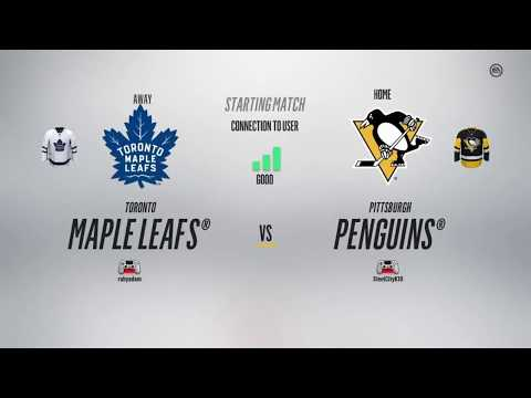 NHL 18 Road to the World gaming championship; Game 2