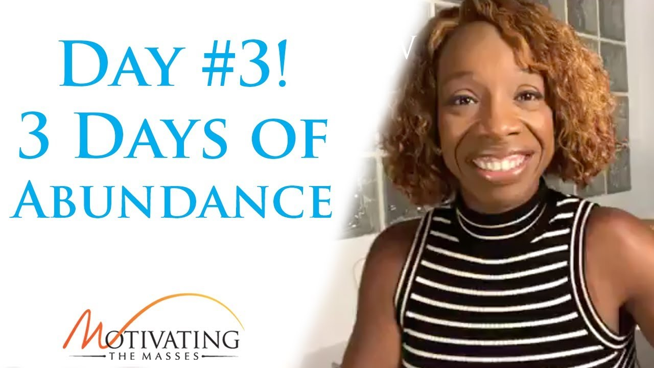 Lisa Nichols - 3 Days of Abundance - Day #3