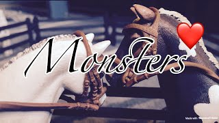 Schleich music video Monsters