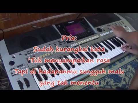Karaoke Terkesima Rhoma Irama & Nur Halimah Organ Tunggal tanpa Vokal