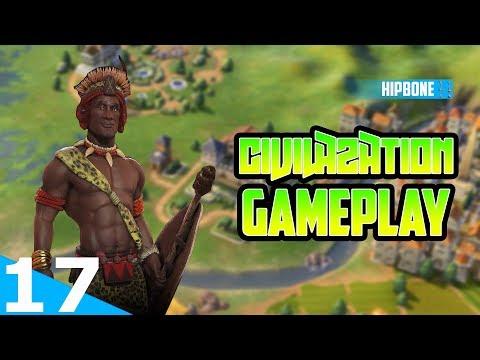 Civilization 6 Rise & Fall - Zulu Gameplay #17 - My Capitals