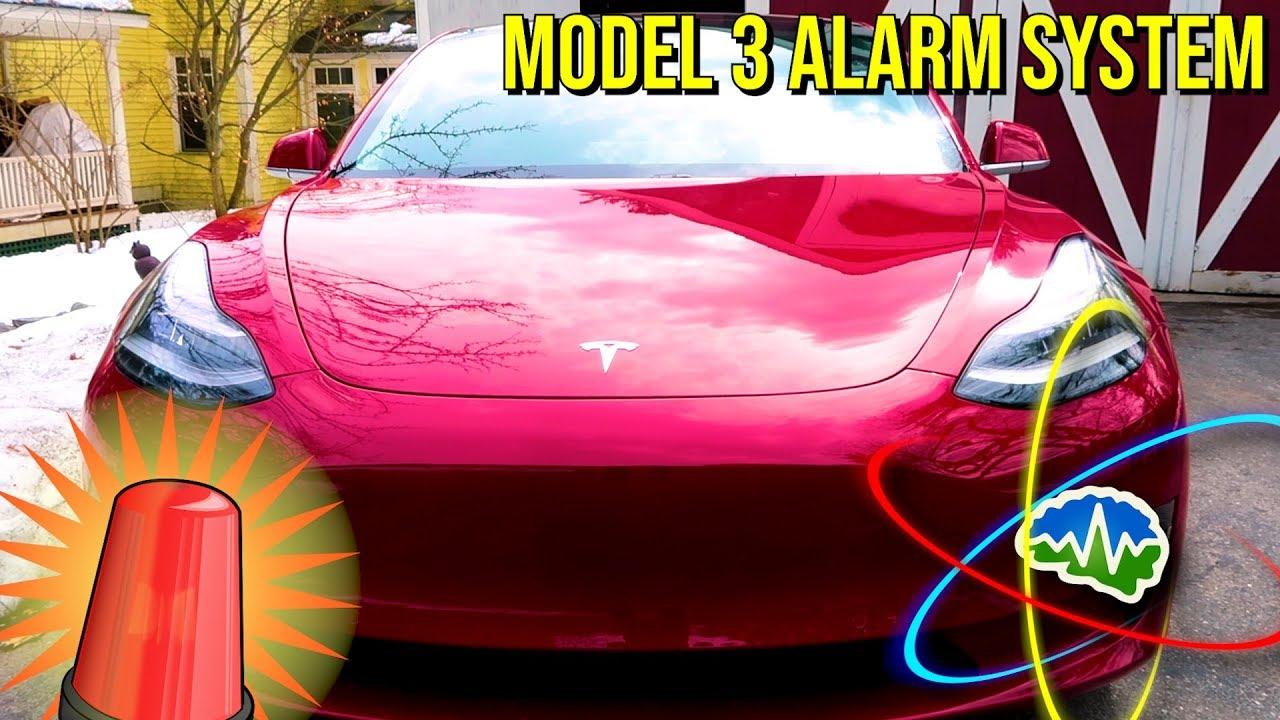 How To Turn Off Tesla Model 3 Car Alarm