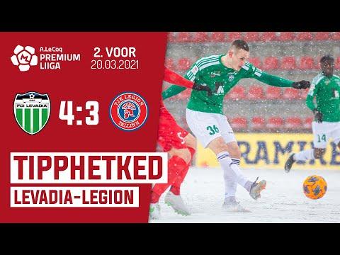 Levadia Tallinn Legion Goals And Highlights