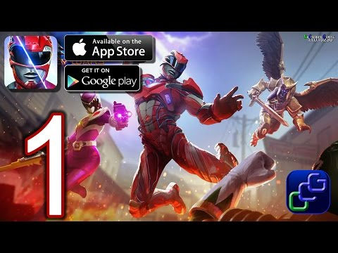 Power Rangers Legacy Wars Android IOS Walkthrough - Gameplay Part 1 - Training Pit, Angel Grove