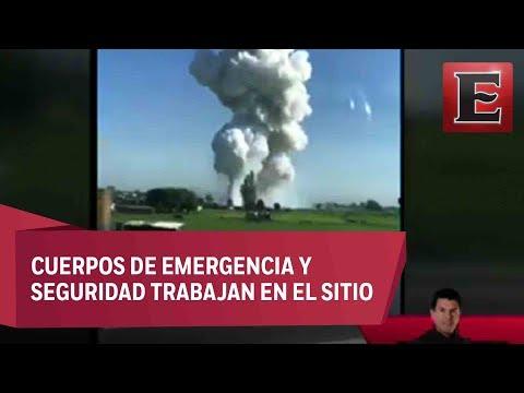 ÚLTIMA HORA: Otra explosión de polvorín en Tultepec, Edomex