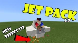 Working JET PACK !!! Minecraft PE thumbnail