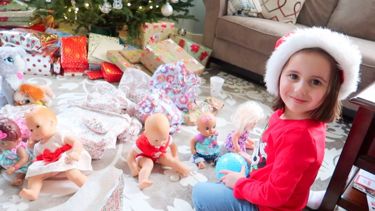 Baby Doll Christmas Morning Special With Baby Alive