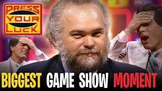 Press Your Luck - THE BIGGEST most SHOCKING CHEATING contestant in GAME SHOW HISTORY! | BUZZR