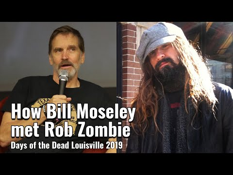 How Bill Moseley met Rob Zombie - 3 From Hell Panel