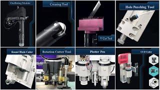 Dekcel CNC Digital Oscillating  Knife Cutter Machine Tools Use Method