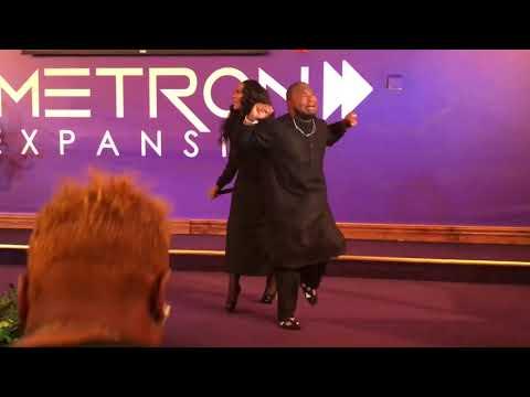 Crazy Praise Break at The Harvest Tabernacle Church!!! 11/5/17