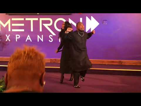 Crazy Praise Break at The Harvest Tabernacle Church!!! 11/5/17