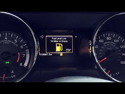 2016 V6 Mustang Gas Mileage Part 1