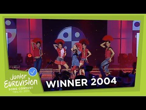 JUNIOR EUROVISION 2004: MAR�A ISABEL - ANTES MUERTA QUE SENCILLA - SPAIN 🇪🇸