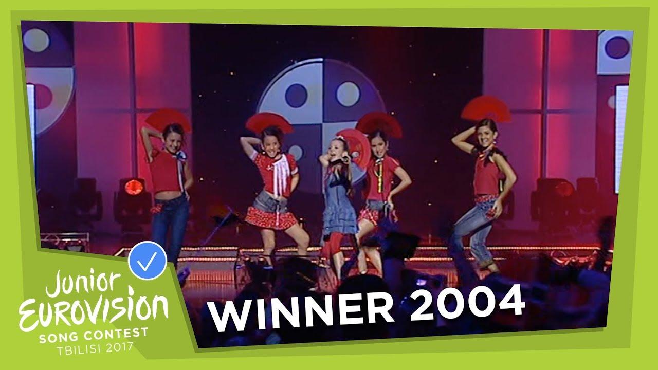 junior eurovision 2004 marÍa