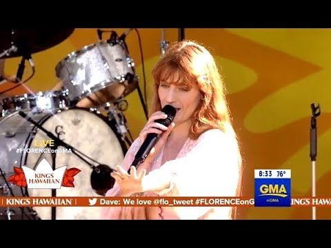 Florence + The Machine Perform  Hunger  GMA