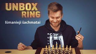 Išmanieji šachmatai?   SQUARE OFF   Unbox Ring apžvalga