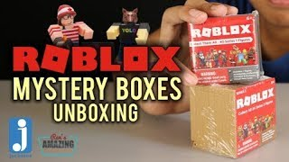 Roblox Mystery Boxes Series 1 and 2 Jazwares Unboxing