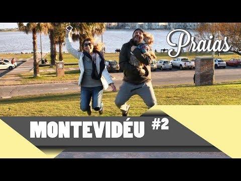 MONTEVIDÉU #2: Praias de Pocitos, Punta Carretas, Pôr do sol e rotina por aqui