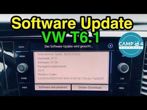 Software Update im VW T6.1 - Infos & Möglichkeiten - Update Navigationsdatenbank und Infotainment