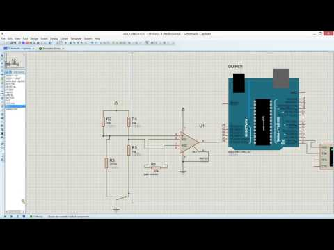 Emerging Technologies Load Cell Simulation In Proteus