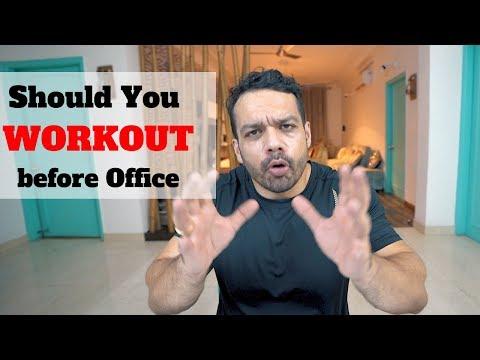 Workout on Empty Stomach??