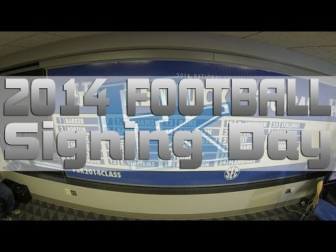 Kentucky Wildcats TV: Kentucky Football Signing Day 2014 Live Special
